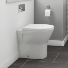 Marbella Back To Wall Pan And Soft Close Seat by Synergy