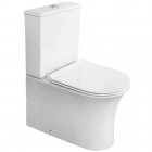 Fully Back To Wall Close Coupled Toilet, Cistern & Seat - F10 By Voda Design
