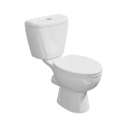 Galaxia Close Coupled WC Toilet with Soft Close Seat