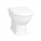 VitrA Serenada Back To Wall WC Pan and Standard Seat