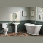 Traditional Freestanding Bath Suite - Boat