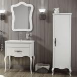 Paris Traditional Vanity Suite - Vanity, Basin, Mirror & Storage Unit