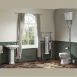 Traditional Bathroom Suite With High Level Toilet