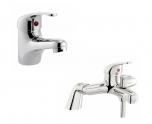 Value Single Lever Mono Basin and Bath Shower Mixer Set